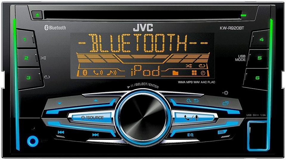 JVC 2-DIN Autoradio mit Bluetooth »KW-R920BTE« in schwarz
