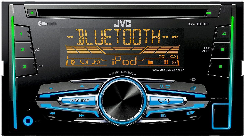 JVC 2-DIN Autoradio mit Bluetooth »KW-R920BTE«