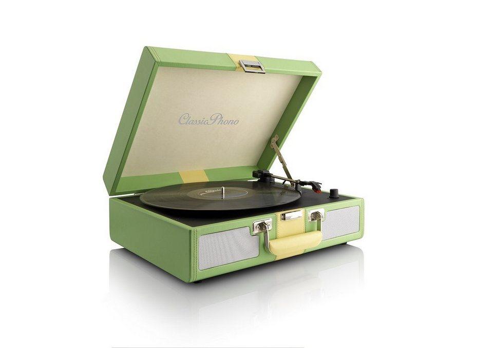 Lenco Plattenspieler »TT-33« in grün