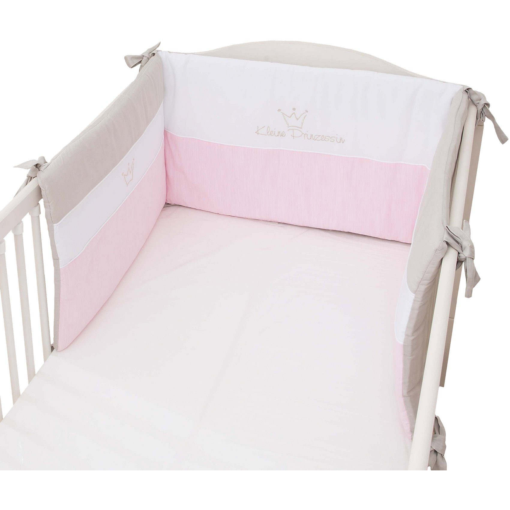 Be Be's Collection Nestchen Kleine Prinzessin (neu), rosa, 40 x 190 cm