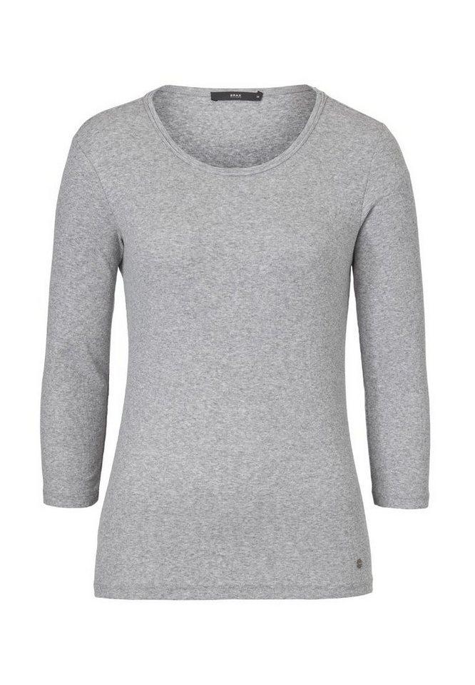 BRAX Damenshirt »COLLETTA« in GREY MEL.