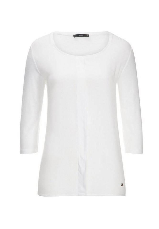 BRAX T-Shirt »CLARA« in OFF WHITE