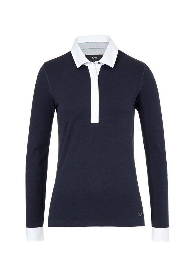 BRAX Damenpoloshirt 1/1-Arm »CELINA« in NAVY