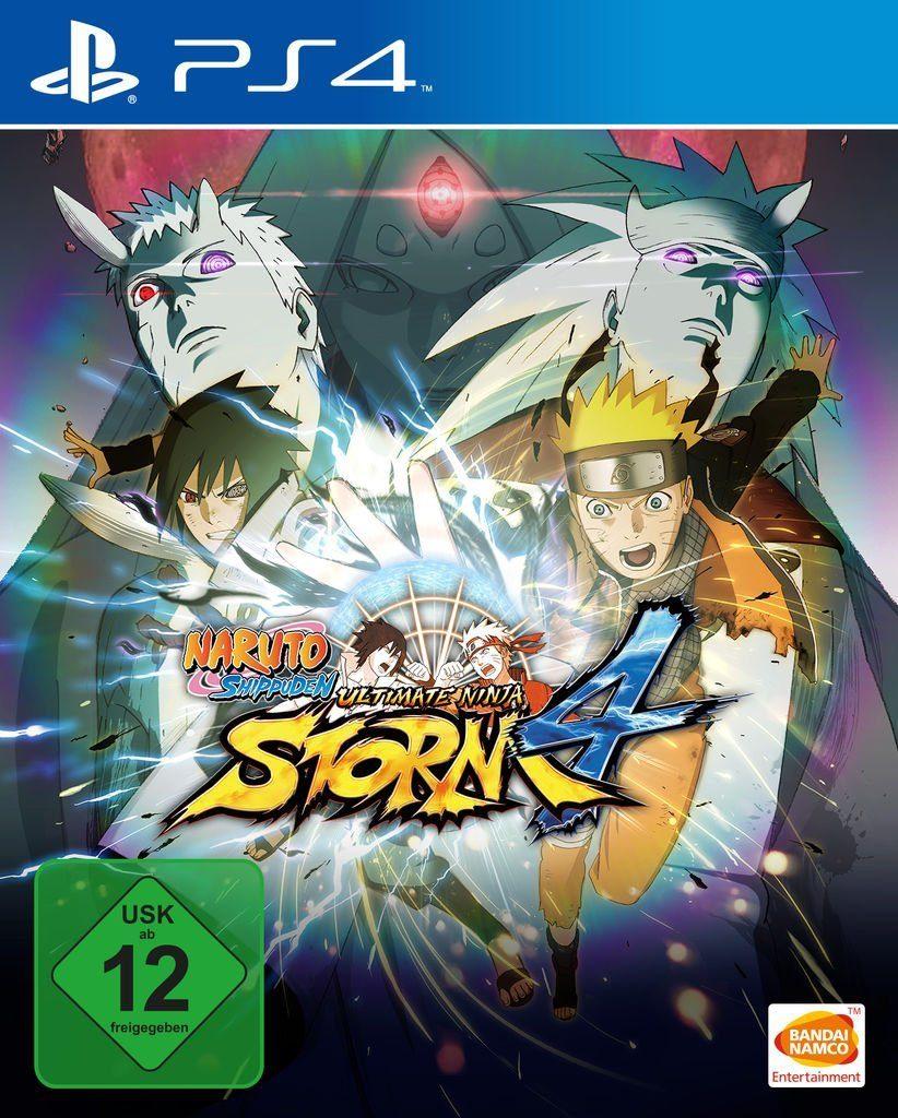 Bandai Playstation 4 - Spiel »Naruto Shippuden Ultimate Ninja Storm 4«