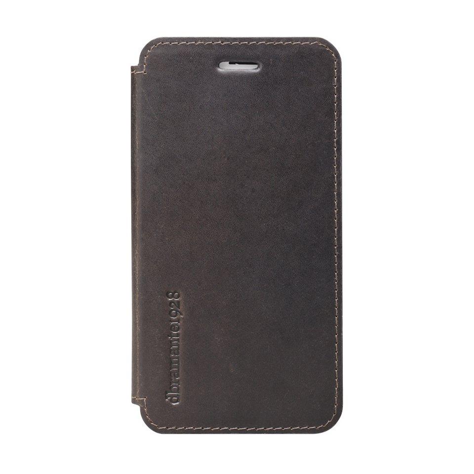 "dbramante1928 LederCase »Folio Frederiksberg 2 iPhone (6) 4.7"" Hunter Dark« in braun"