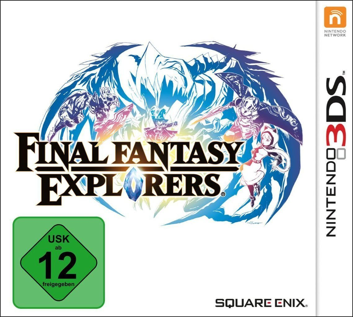 Koch Media Nintendo 3DS - Spiel »Final Fantasy Explorers«