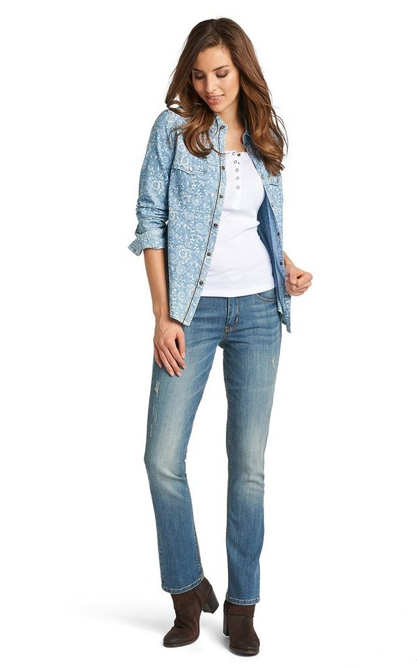 H.I.S Jeans »Madison« in fusion blue