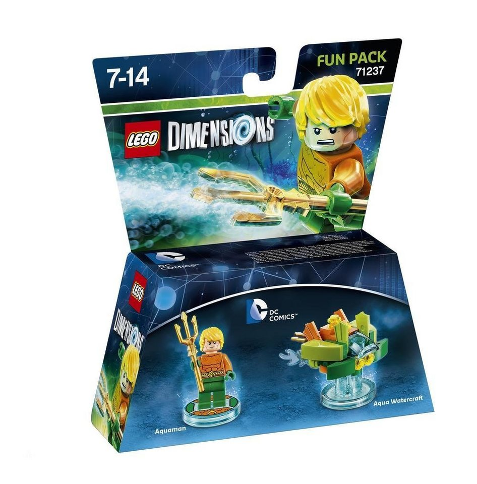 Warner Games Fanartikel »Lego Dimensions Fun Pack DC - Aquaman«