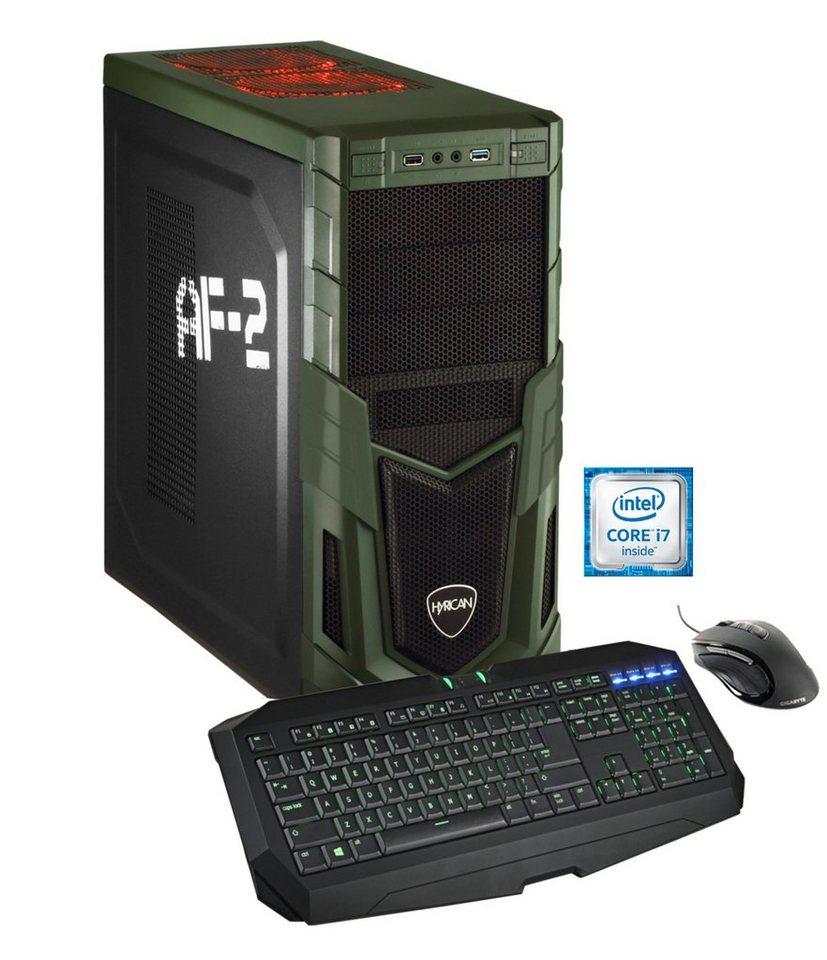 Hyrican Gaming PC Intel® i7-6700, SSD + HDD, GeForce® GTX 980 »Military Gaming 5050«