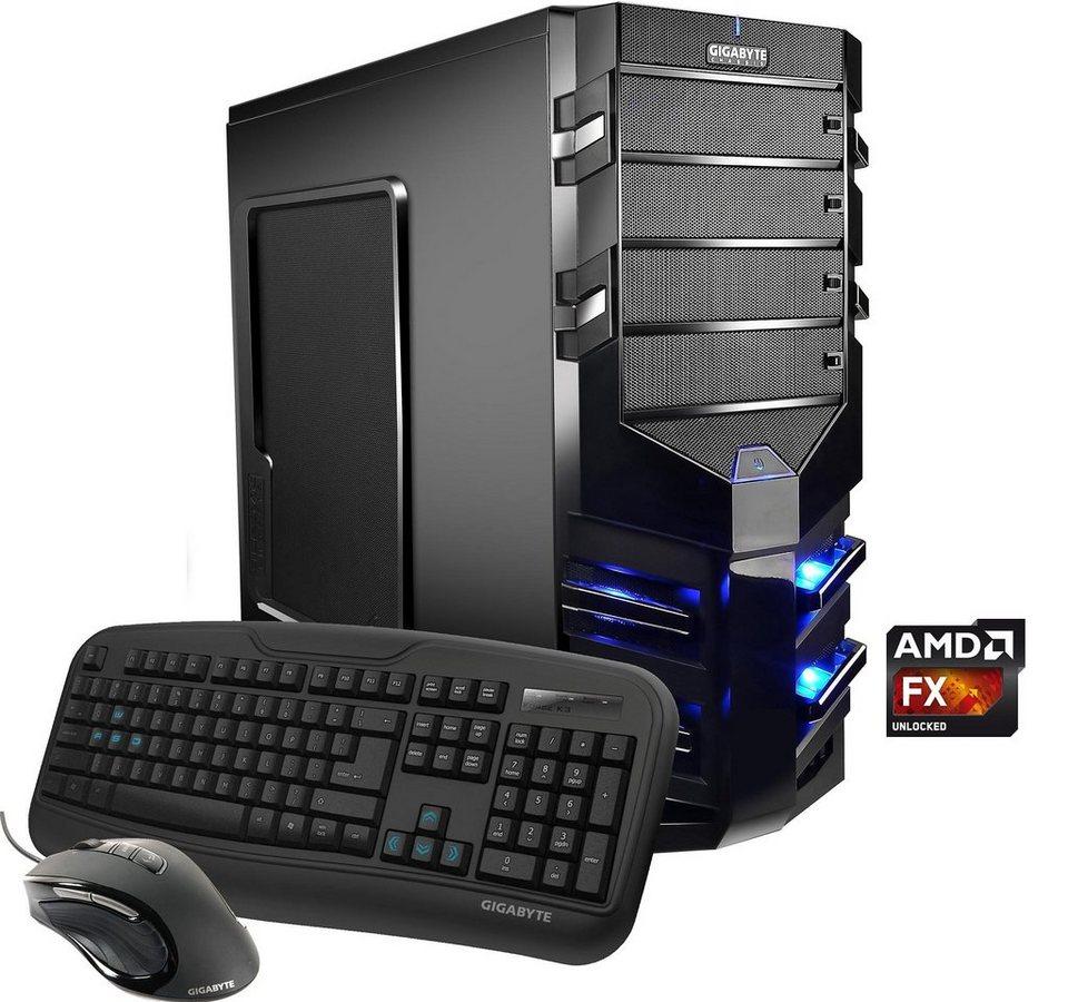 Hyrican Gaming PC AMD FX-8350, 16GB, 1TB + 240GB SSD, GTX950 2GB, Window »Alpha Gaming 5040«