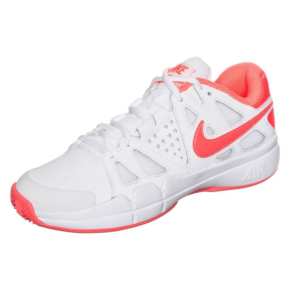 NIKE Air Vapor Advantage Clay Tennisschuh Damen in weiß / orange