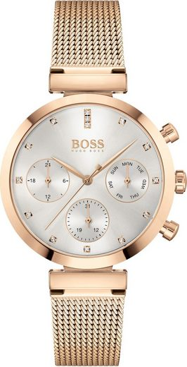 Boss Multifunktionsuhr »FLAWLESS, 1502553«