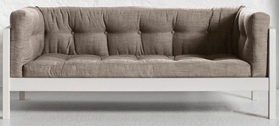 Karup Sofa in hellgrau