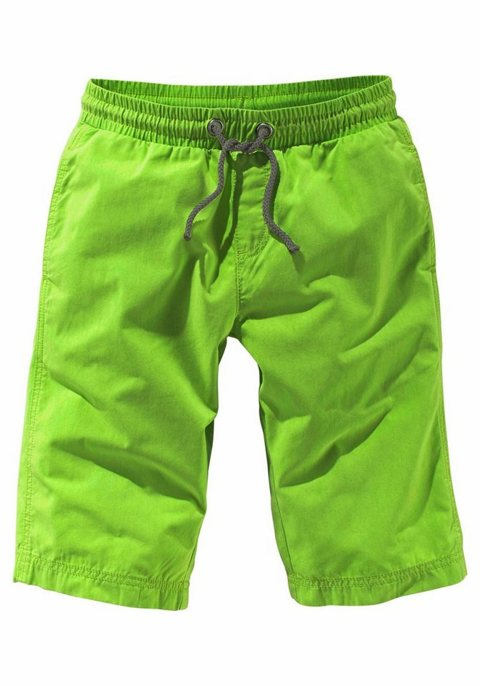 KIDSWORLD Bermudas in Schlupfform in limette