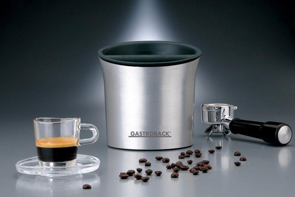 Gastroback Ausklopfbehälter für Espressomaschinen Barista Boy 98000