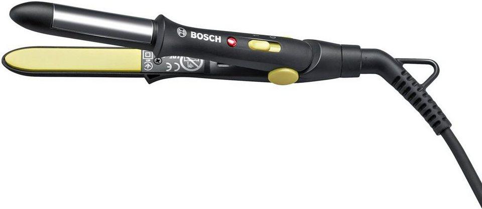 Bosch, Haarglätter, Style to Go PHS1151 in schwarz/lemon