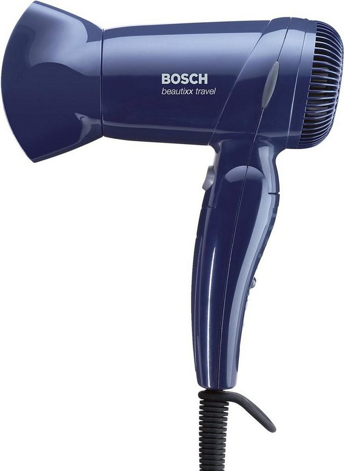 Bosch, Reisehaartrockner, beautixx travel PHD1100 in dunkelblau
