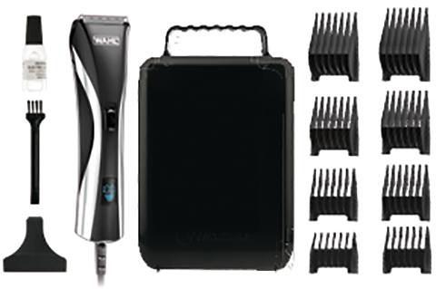 Wahl Haar- und Bartschneider 9697-1016, LCD-Display und abwaschbarer Schneidsatz