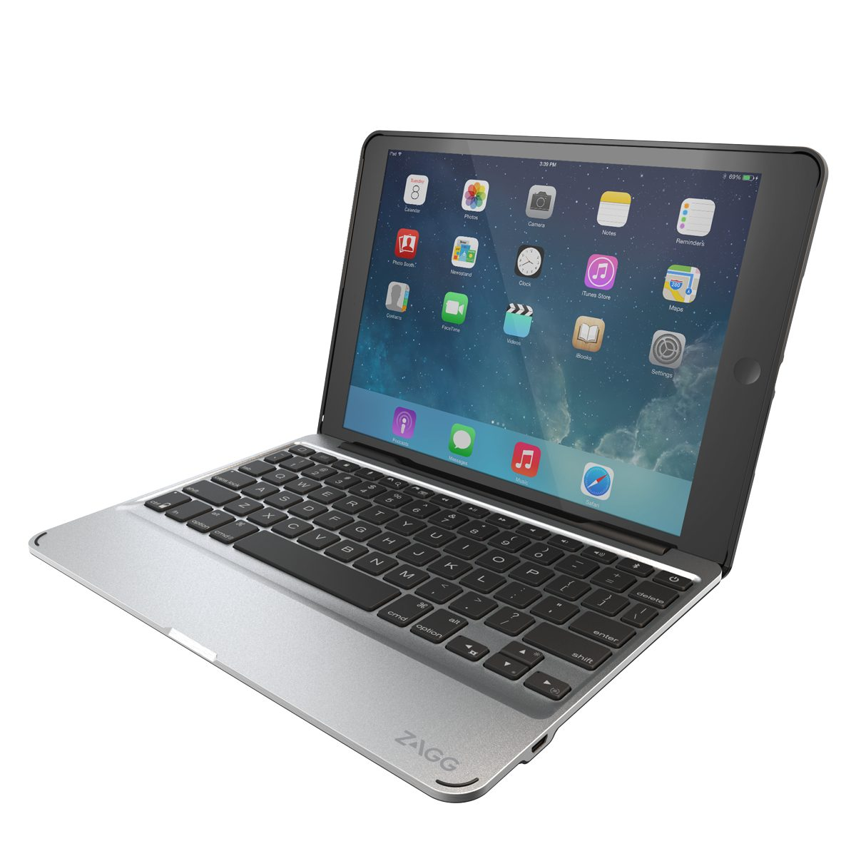 ZAGG Tablettasche »Slim Book Case Keyboard für Apple iPad Pro«