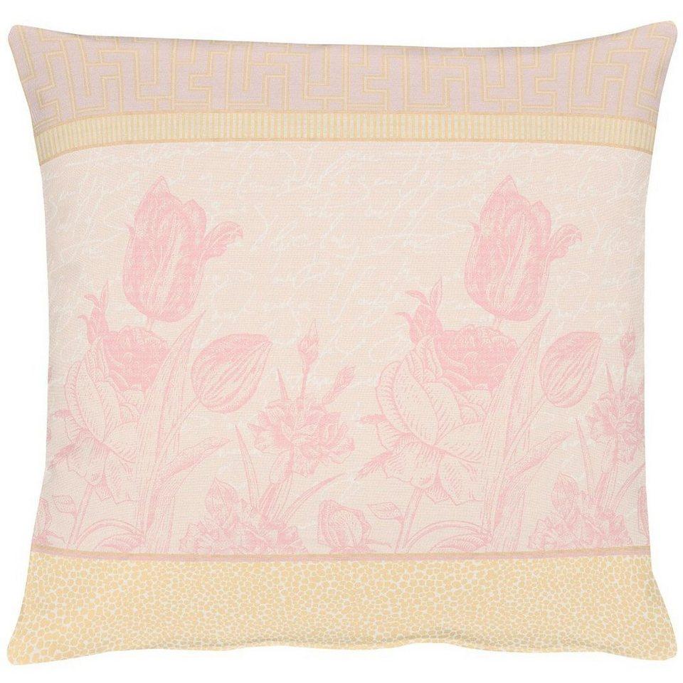 Apelt Kissenhülle, »TULIP« in rosa
