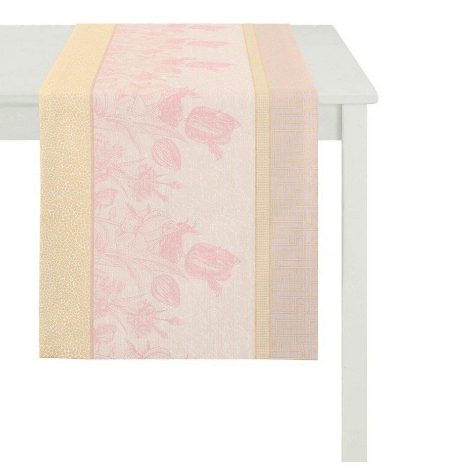 Apelt Tischdecke, »TULIP« in rosa