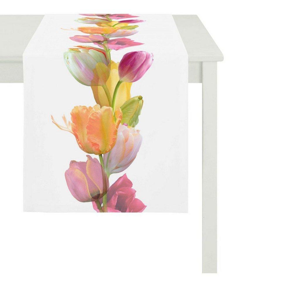 apelt tischdecke 5906 springtime tulpen kaufen otto. Black Bedroom Furniture Sets. Home Design Ideas
