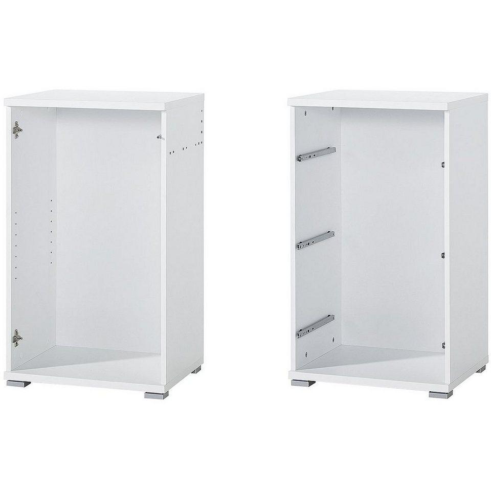 Kommoden-Korpus-Set in weiß