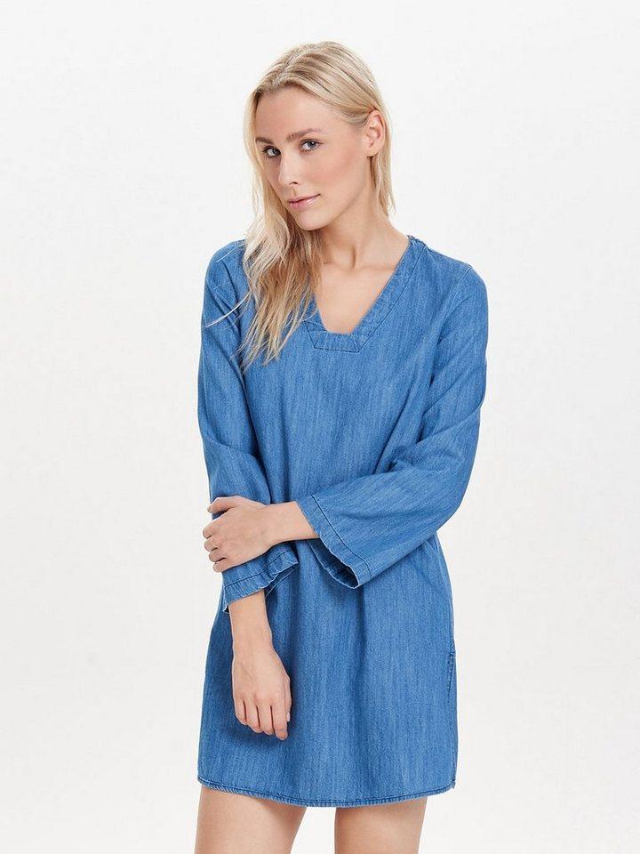 Only Jeans- Tunika in Medium Blue Denim