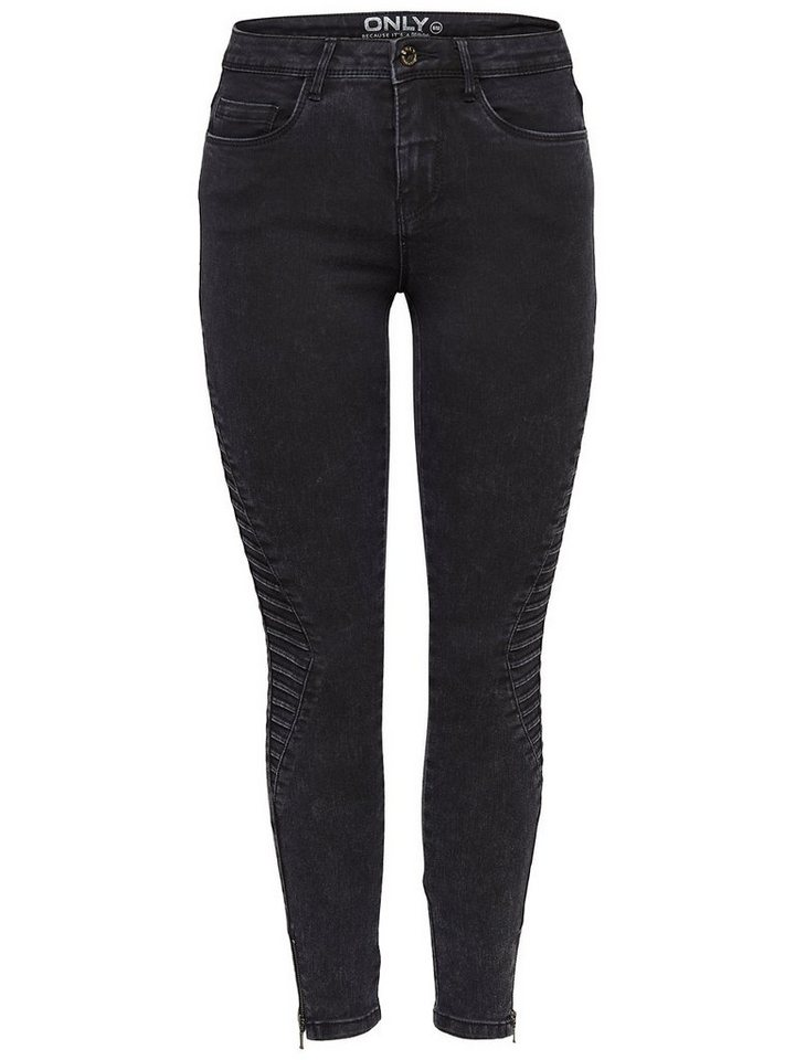 Only Royal rider ankle Regular fit Jeans in Black