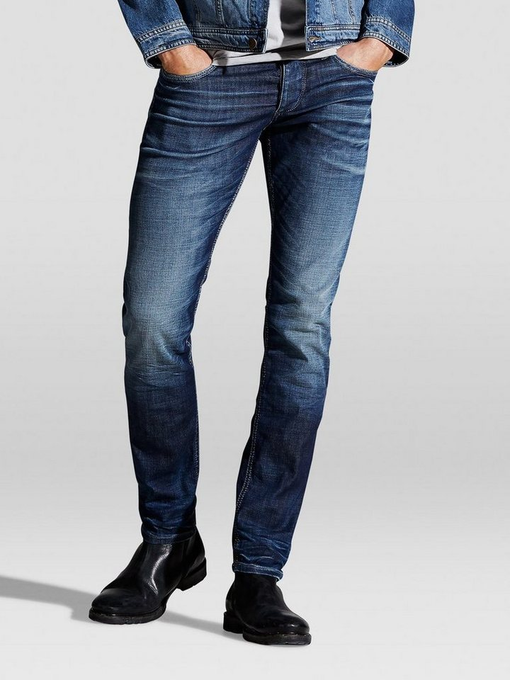 Jack & Jones Glenn Original jj 934 Slim Fit Jeans in Blue Denim