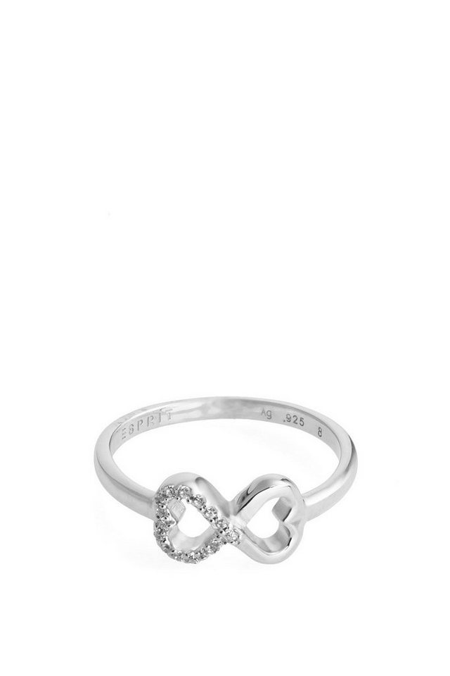 ESPRIT CASUAL Sterling Silber / Zirkonia Ring in one colour