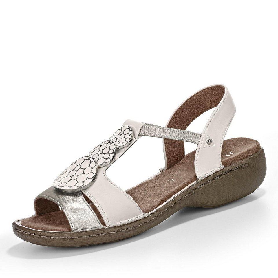 Jenny Korsika Sandale in weiß/silber
