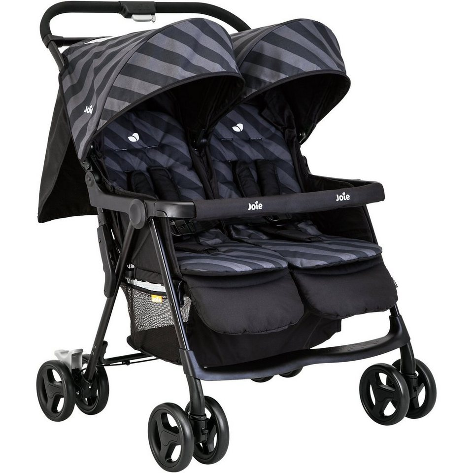 Joie Zwillingsbuggy AireTwin, Liquorice