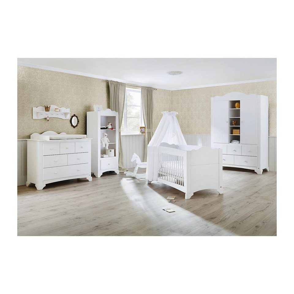pinolino komplett kinderzimmer pino kinderbett wickelkommode und k online kaufen otto. Black Bedroom Furniture Sets. Home Design Ideas