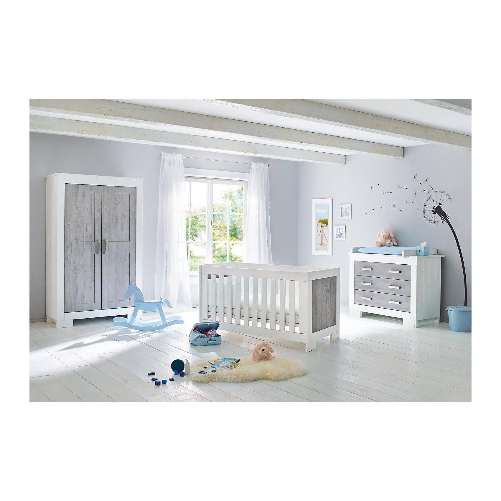 Pinolino Komplett Kinderzimmer LOLLE, (Kinderbett, Wickelkommode und
