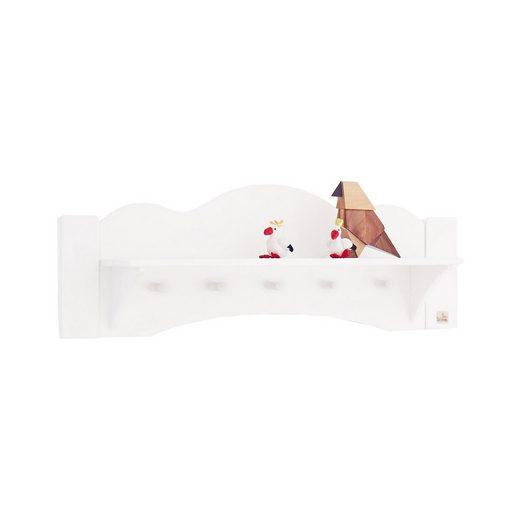 pinolino wandregal garderobe pino kiefer wei lasiert online kaufen otto. Black Bedroom Furniture Sets. Home Design Ideas
