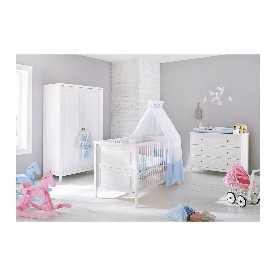 pinolino komplett kinderzimmer smilla kinderbett wickelkommode und online kaufen otto. Black Bedroom Furniture Sets. Home Design Ideas