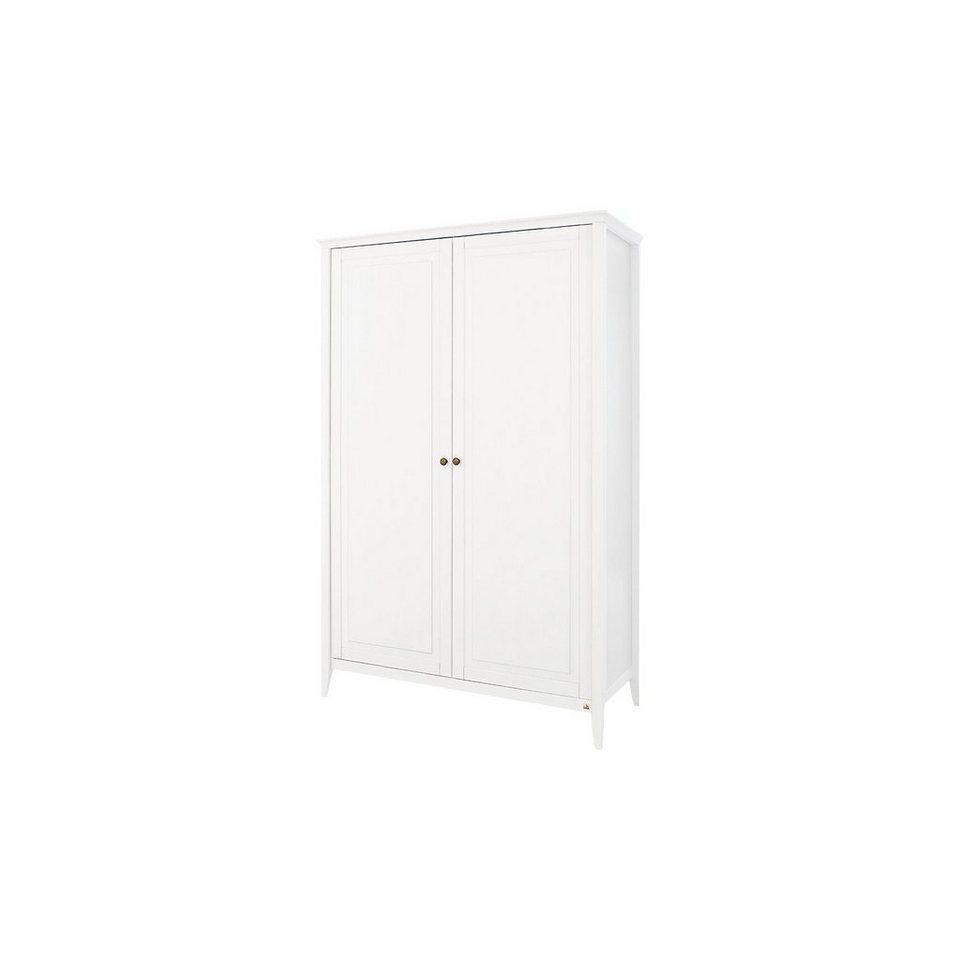 pinolino kleiderschrank smilla 2 t rig kiefer wei lasiert online kaufen otto. Black Bedroom Furniture Sets. Home Design Ideas