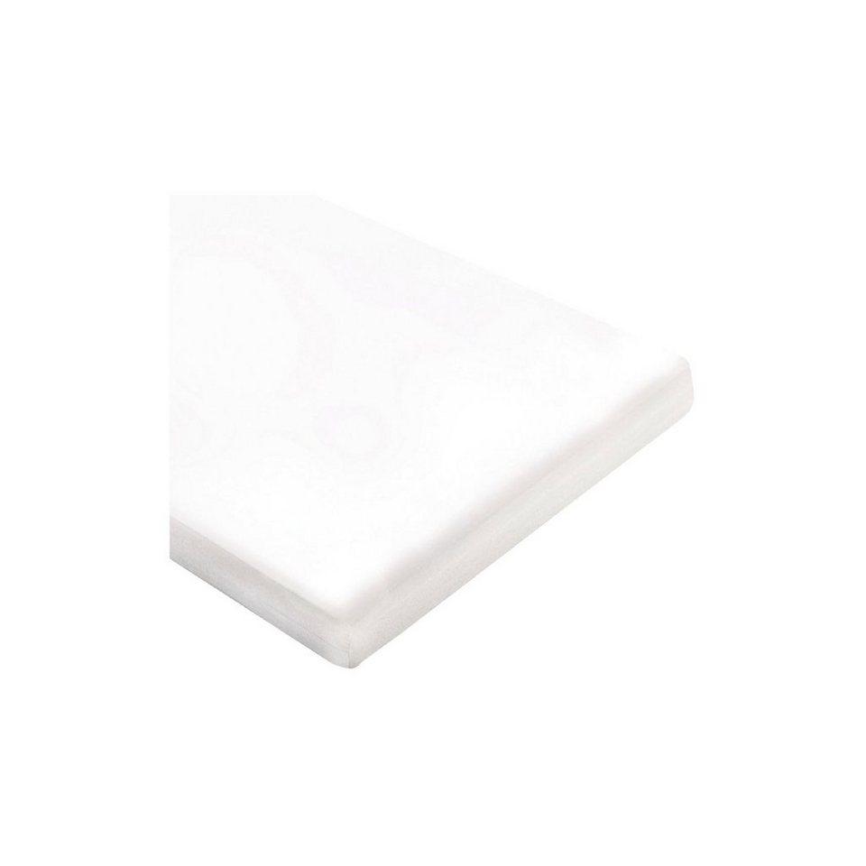 Pinolino Matratze für Wiegen und Beistellbetten, 55 x 90 cm in weiß