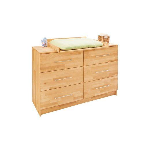 pinolino wickelkommode natura buche massiv ge lt 140 cm. Black Bedroom Furniture Sets. Home Design Ideas