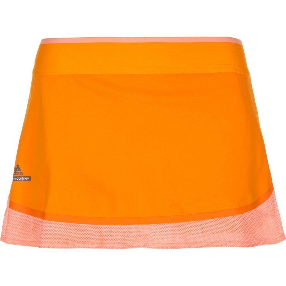 adidas Performance Stella McCartney Barricade Australian Open Tennisrock Damen in orange / koral