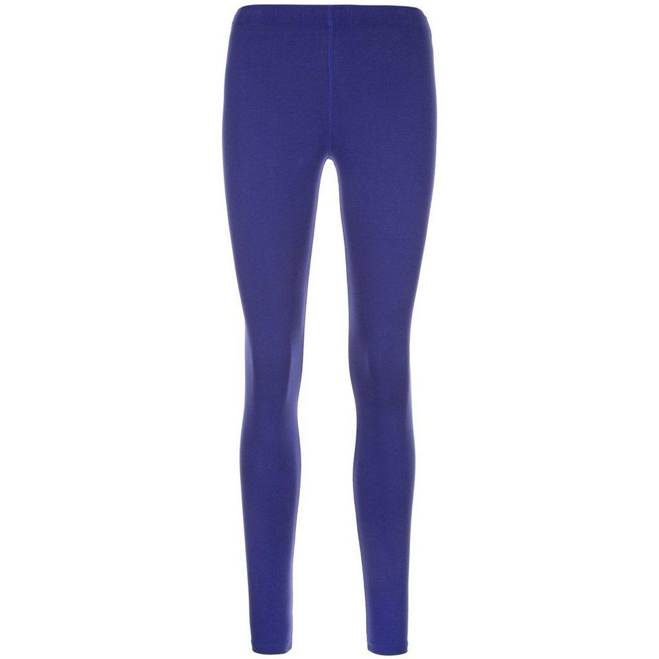 Nike Sportswear Leg-A-See Logo Legging Damen in dunkelblau / weiß