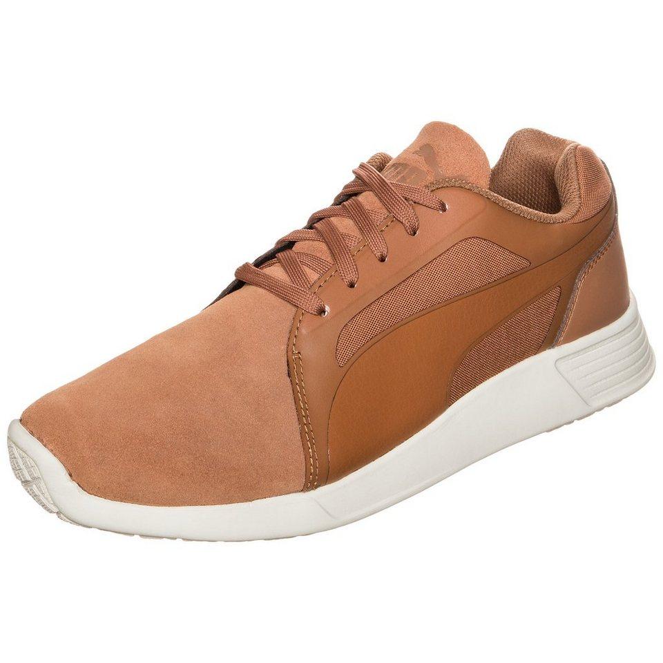 PUMA ST Trainer Evo SD Sneaker in hellbraun / weiß