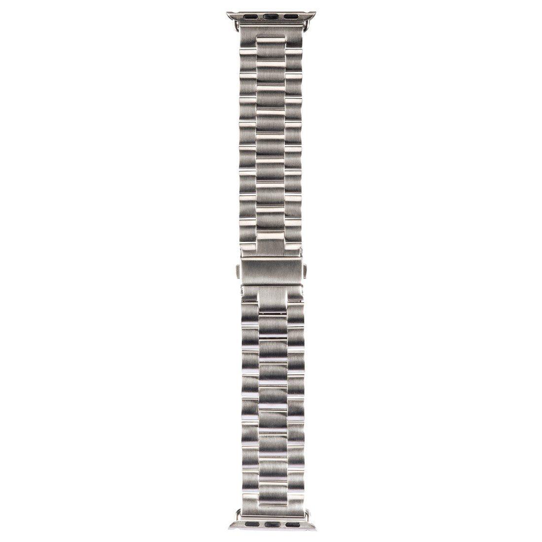 Hama Armband für Apple Watch 42 mm Uhrenarmband Edelstahl »Wechselarmband Ersatzband«
