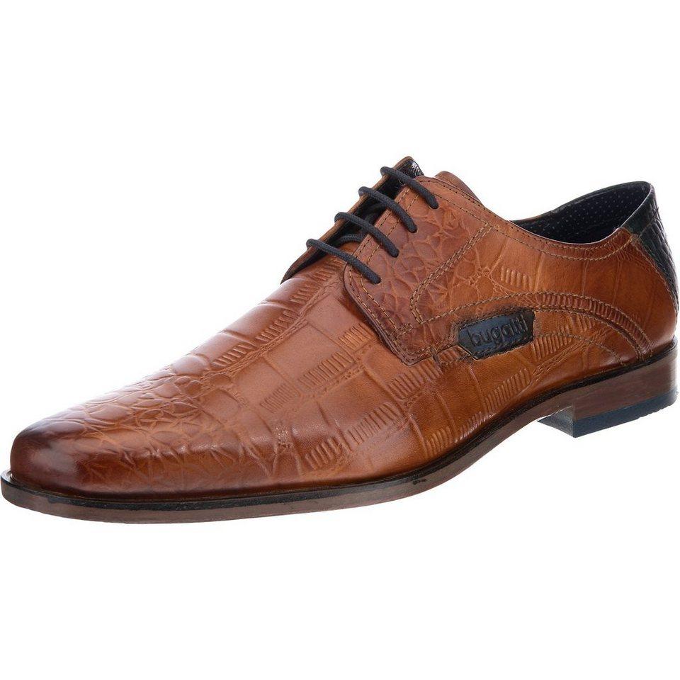 bugatti Business Schuhe in cognac