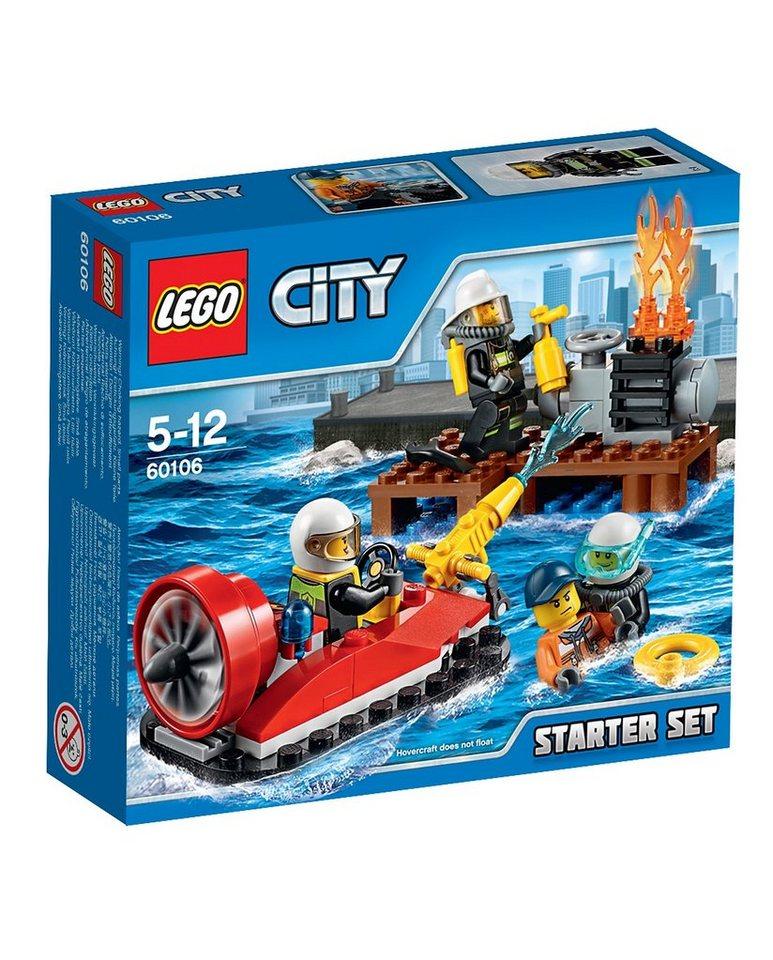 LEGO® Feuerwehr-Starter-Set (60106), »LEGO® City«