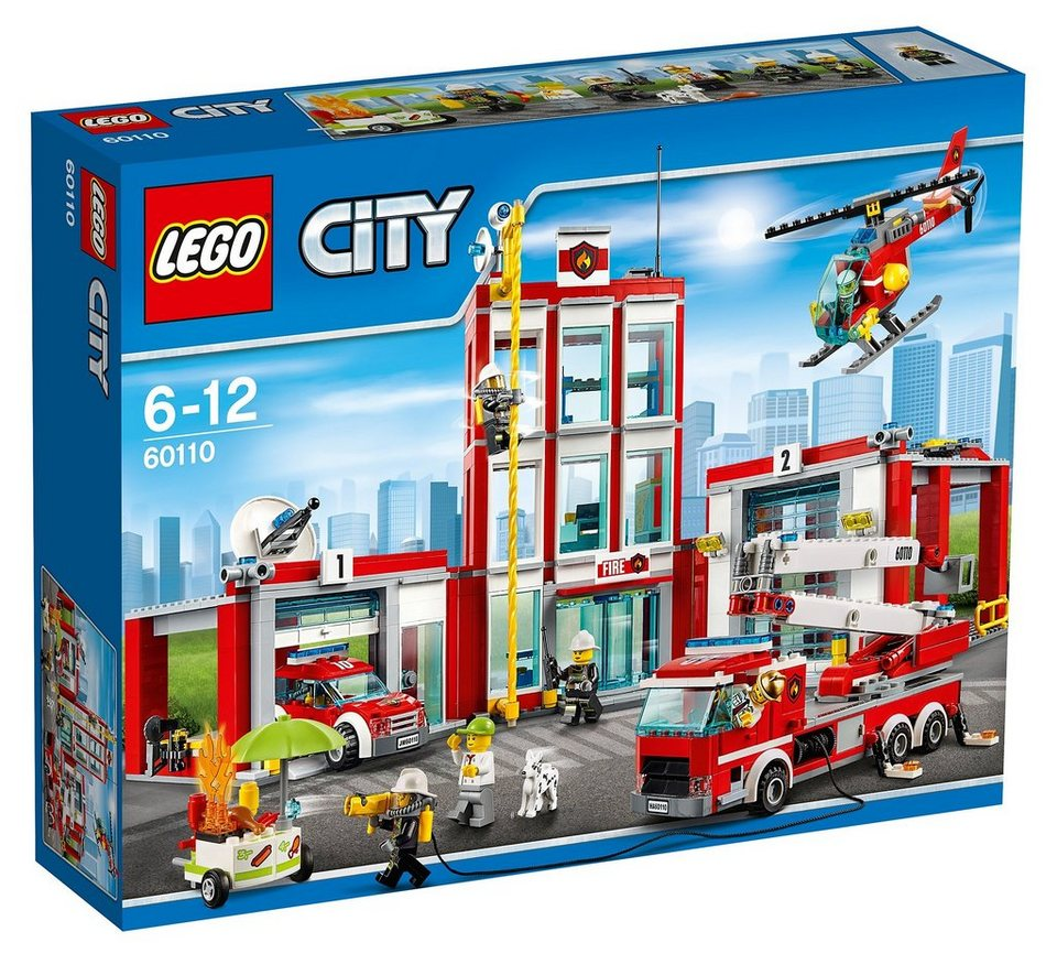 LEGO®, Große Feuerwehrstation (60110),  LEGO® City  online kaufen
