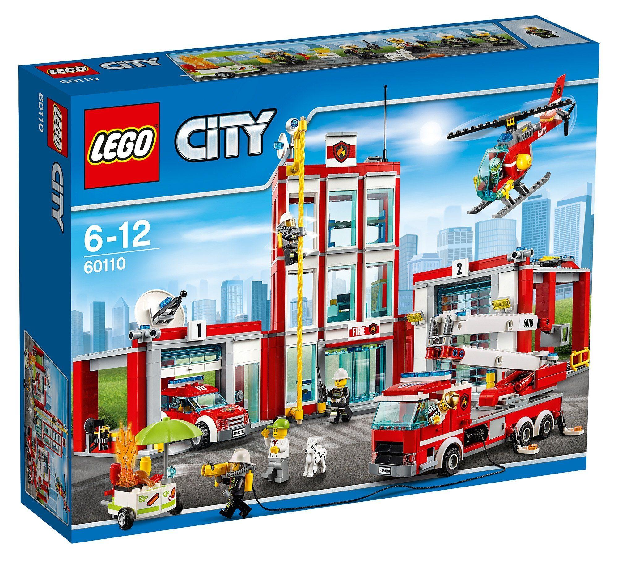 LEGO®, Große Feuerwehrstation (60110), »LEGO® City«