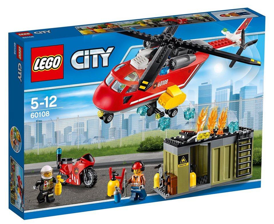 LEGO®, Feuerwehr-Löscheinheit (60108), »LEGO® City«