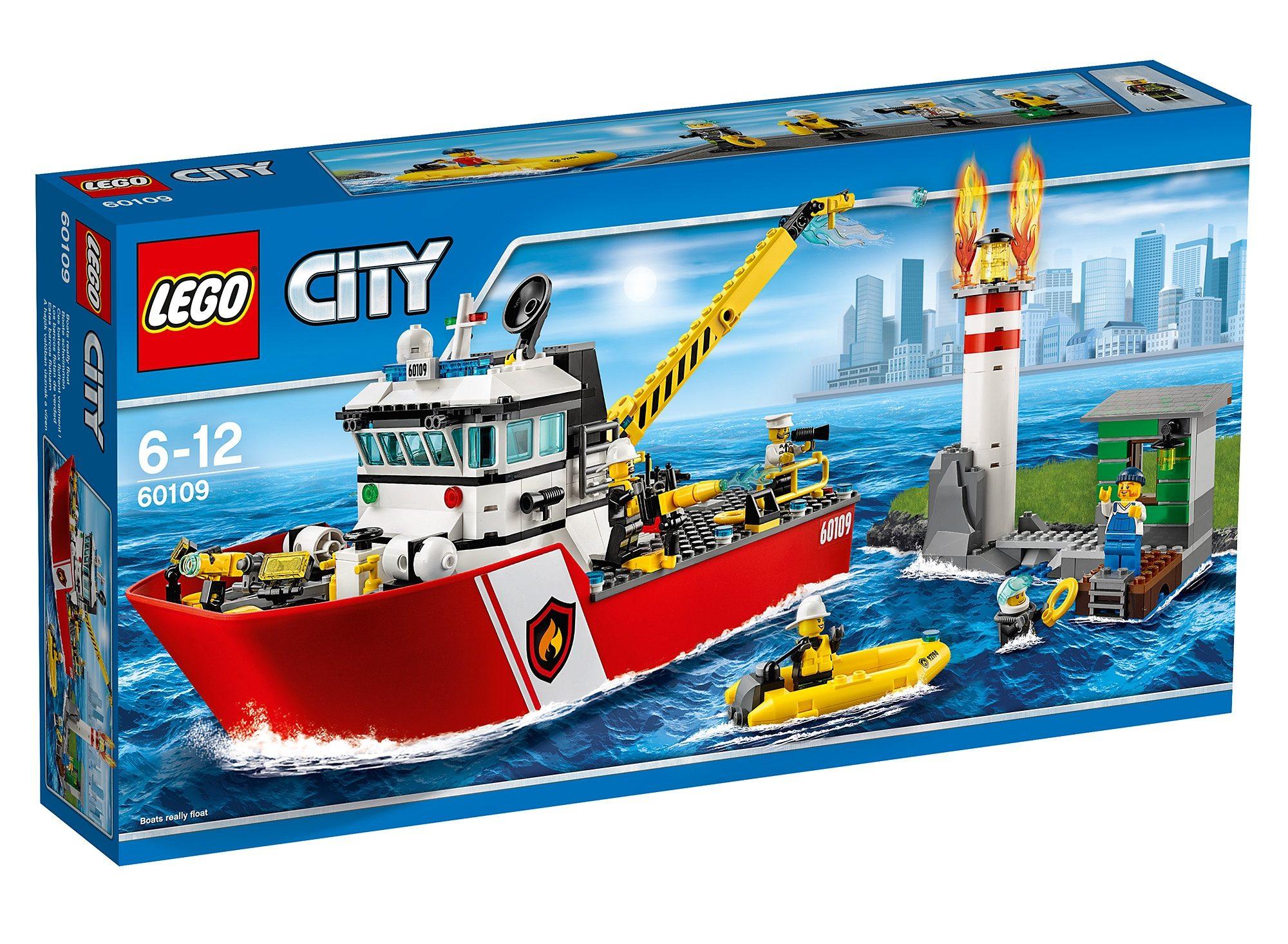 LEGO®, Feuerwehrschiff (60109), »LEGO® City«